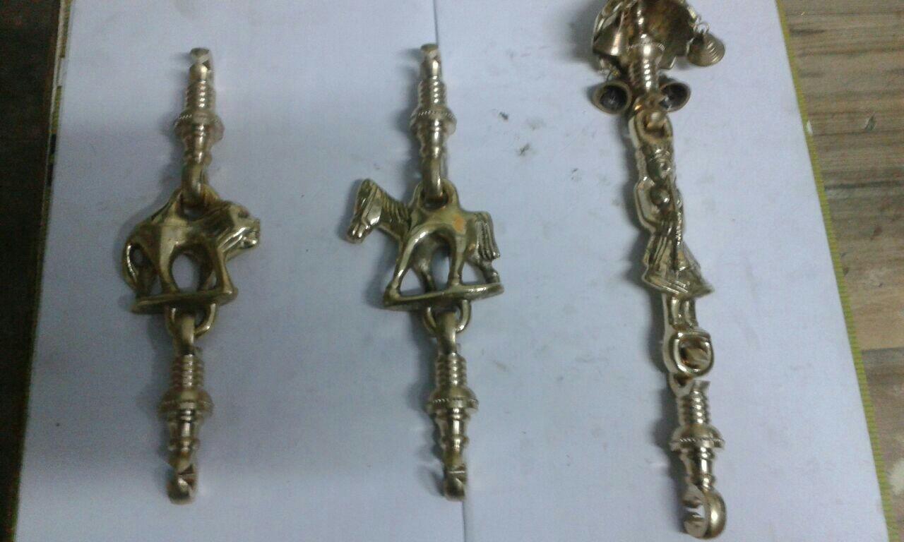 Brass Jhula Horse Light