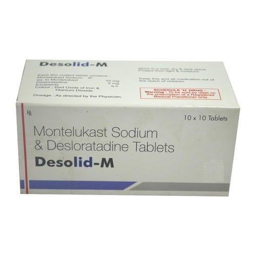 Desloratadine Montelukast Tablet