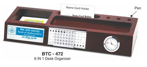 6-in-1 Desk Organizer