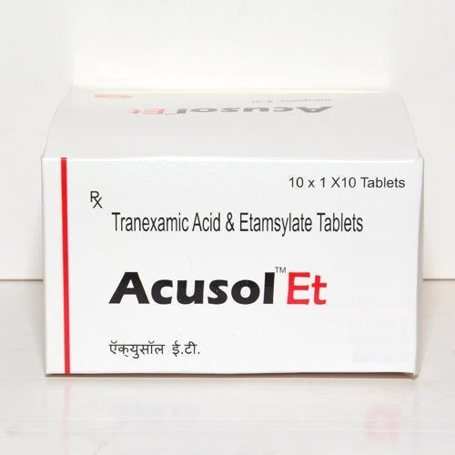 Tranexamic Acid And Ethamsylate  Tablet