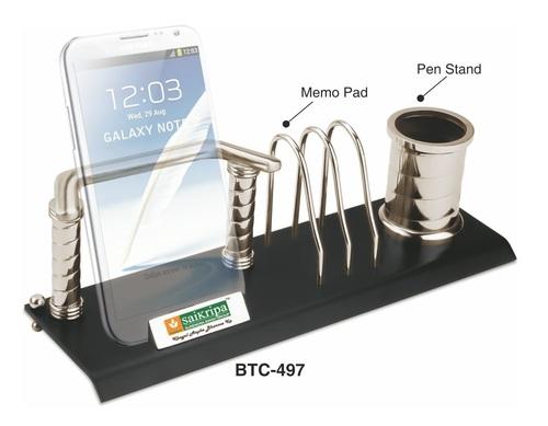 3-in-1 Stainless Steel Desk Organizer