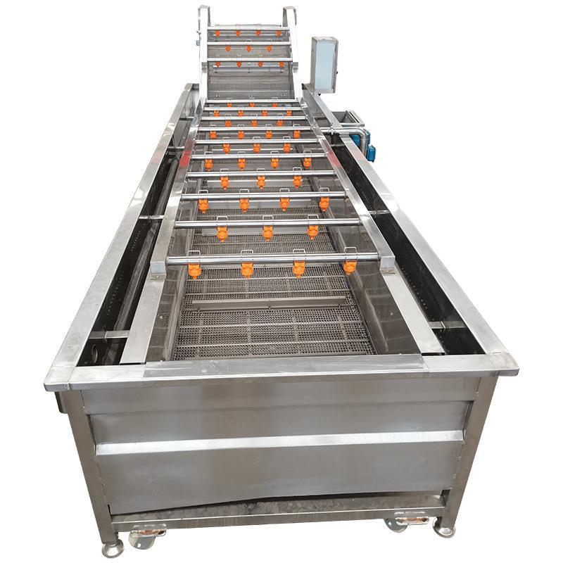 Full Automatic Coconut Bubble Washing Cleaning Machine Coconut Processing Machine