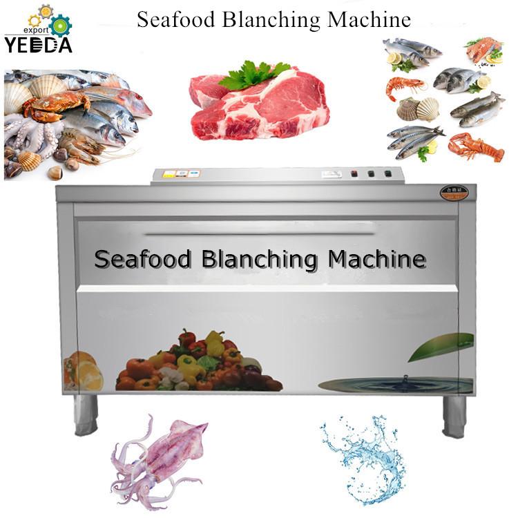 Fruit&Vegetable Shellfish Air Bubble Ozone Washing And Blanching Machine