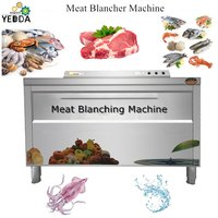 Automatic Celery Spinach Blanching Machine Lettuce Potato Chips Boiling Equipment