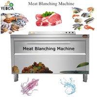 Lemon Peach Passion fruit Air Bubble Ozone Washing And Sea cucumber Squid Kelp slices Blanching Machine