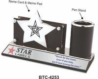 Black Star Shape Desk Organizer