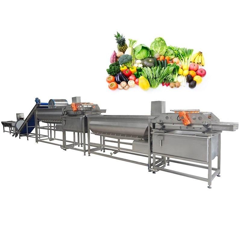 Ydvt-1000 Okra Eggplant Tomato Vortex Washing Machine