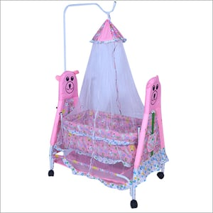 Baby Cradle With Long Mosquito Net