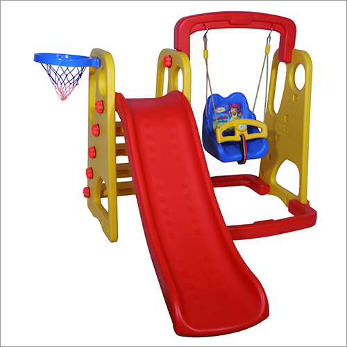 Multiplay Plastic Slide with Swing