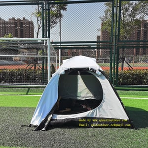 Waterproof Camping Tent, Fresh & Black, UV& Sunshine Backpacking Tent, 3 to 4 people for family weekend.