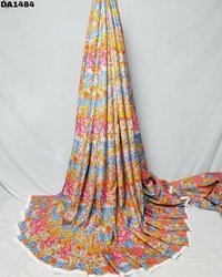Amazing Big Width Digital Prints on Linen Fabric