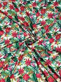 Beautiful Big Width Digital Prints on Linen Fabric