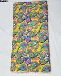 Pretty Big Width Digital Prints on Linen Fabric