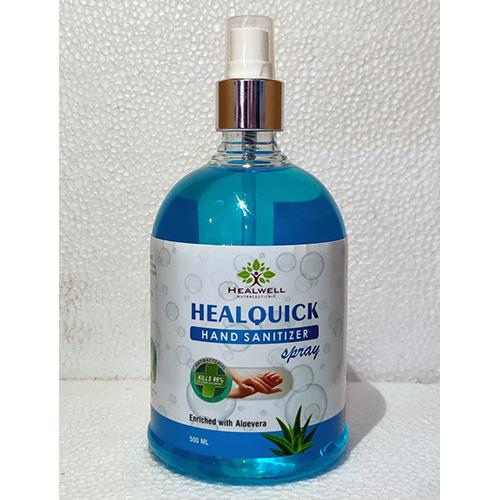 Healquick Hand Sanitizer Spray