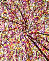 Exclusive Digital Print Design on Rayon Silk Fabric