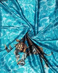 Beautiful Digital Prints on Tokyo Sartin Fabric Now