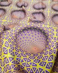 Wonderful Digital Print on Micro Mini Sartin Fabric