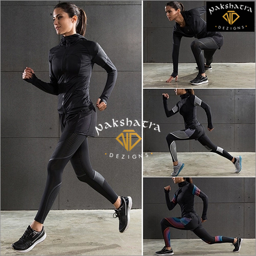 Ladies 5 Pcs Sport Wear