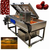 Hq-3-800 Nectarine Cactus Fruit Apricot Roller Brush Spray Washing Machine