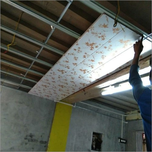 PVC False Ceiling Work Services