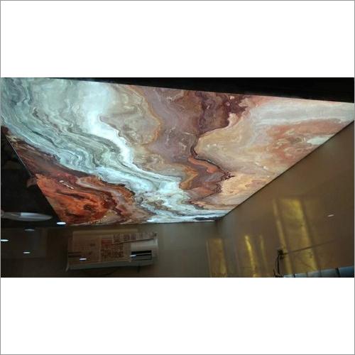 Stretch False Ceiling Works