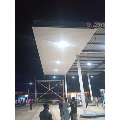 Petrol Pump Canopy Ceiling Works Services