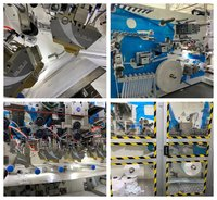 Automatic Pull Up Pant Baby Diaper Machine