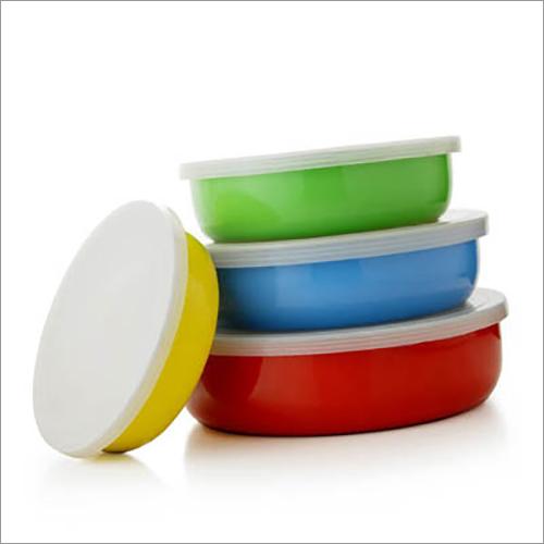 JSI 811 Steel Colored Regular Lid Bowl Set