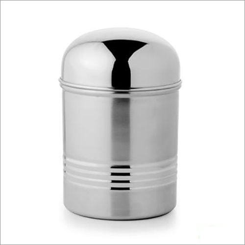 JSI 829 Steel Dome Lid Canister