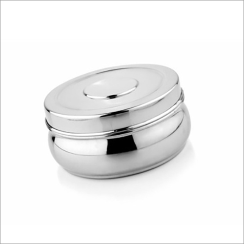 JSI 850 Stainless Steel Belly Puri Dabba