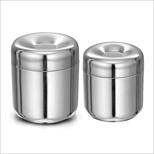 JSI 854 Stainless Steel Apple Deep Premium Canister
