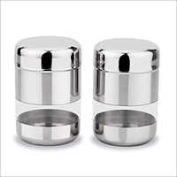 JSI 855 Stainless Steel Bullet Premium See Through Canister