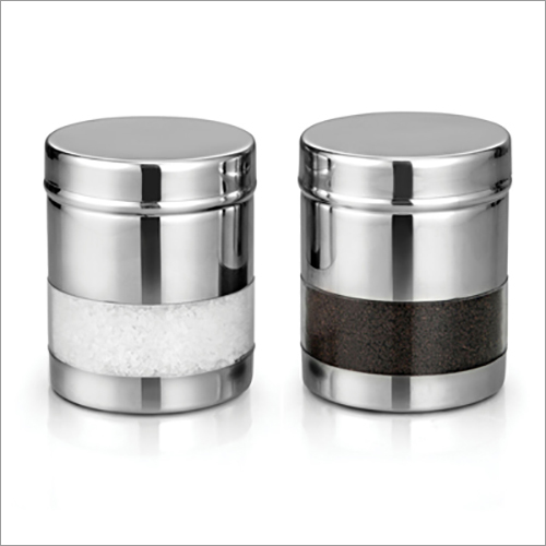 JSI 856 Stainless Steel Straight Premium See Through Canister