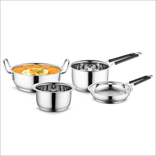 JSI-1804 Stainless Steel Encapsulated Sandwich Bottom Cookware Sets