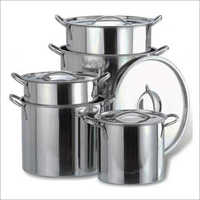 JSI-1807 Stainless Steel Stock Pots With Cover