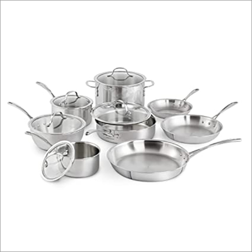 JSI-1821 Tri Ply Stainless Steel Cookware Sets