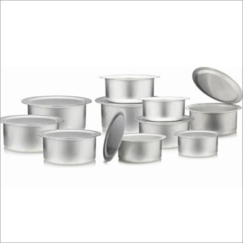 JSI-1839 Aluminium Milk Pot And Tope Sets With Cover