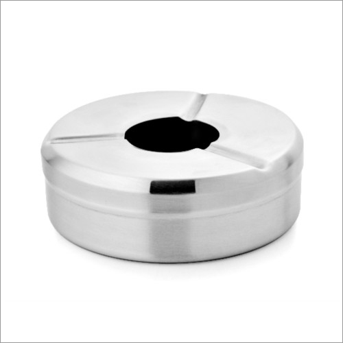 JSI 607 Steel Ashtray With Cover