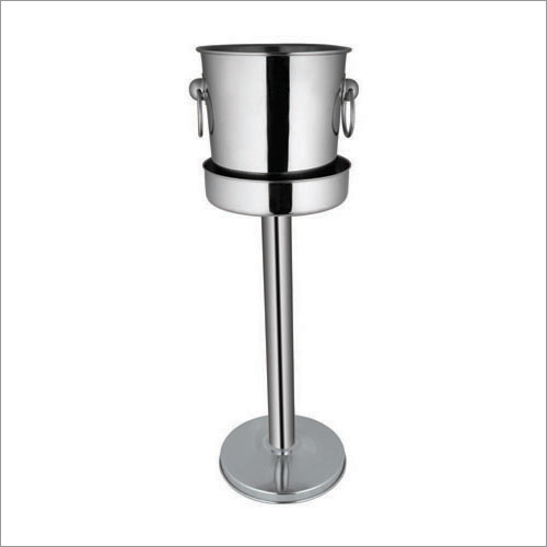 JSI 622 Stainless Steel Wine Bucket With Stand