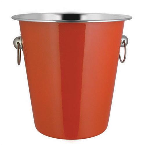 JSI 631 Steel Colored Champegne Bucket