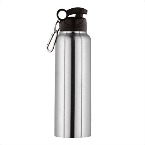JSI-2105 Steel Single Wall Fridge Sipper Water Bottle Regular With Clipper