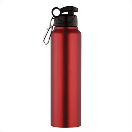 JSI-2106 Steel Single Wall Fridge Sipper Water Bottle Regular Coloured With Clipper