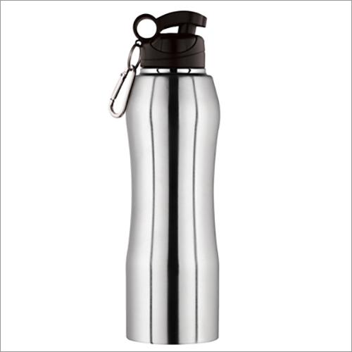 JSI-2107 Steel Single Wall Fridge Sipper Water Bottle Belly With Clipper