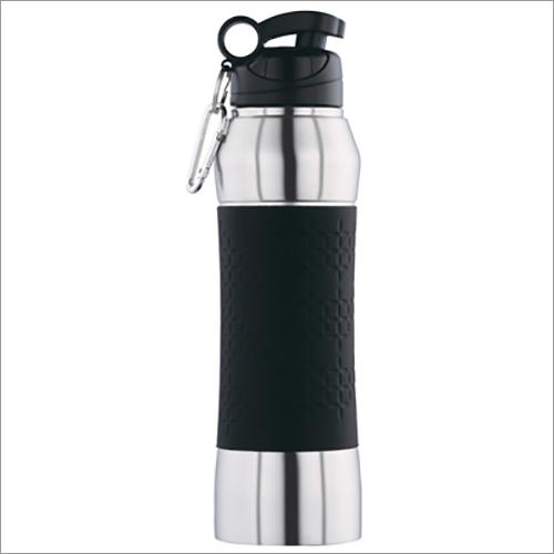 JSI-2113 Steel Single Wall Fridge Sipper Water Bottle Belly Grip With Clipper