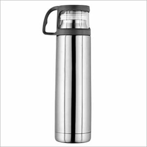 JSI-2119 Steel Vacuum Insulated Hot And Cold Water Bottle With Drinking Cup