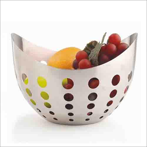 JSI 407 Boat Fruit Bowl Round