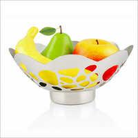 JSI 442 Flower Fruit Bowl With Base Stone