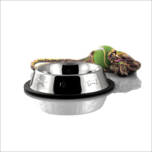 JSI 306 Anti Skid Side Embossed Dog Bowl