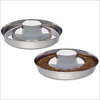 JSI321 Steel Flying Saucer Puppy Dish