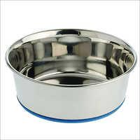 JSI322 Stainless Steel Heavy Dish With Anti Slip Base
